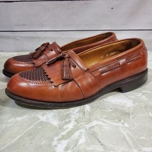 Allen Edmonds Cody Tassel Leather Loafers Sz 10EEE